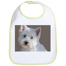 Cute Westies Bib