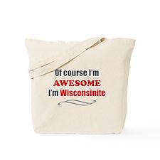 Cute Funny states Tote Bag