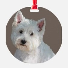 Cute West highland white terrier Ornament