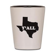 Cute Texans Shot Glass