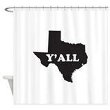 Funny texas Shower Curtains