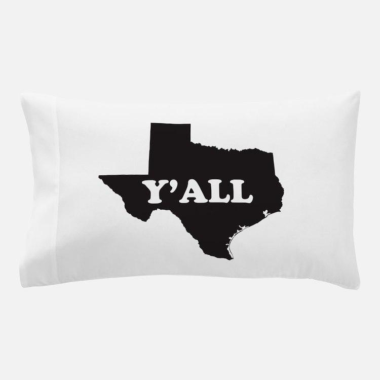 Cute Funny texas Pillow Case