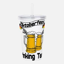 okt drinking teamt.png Acrylic Double-wall Tumbler