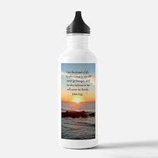 JOHN 6:35 Water Bottle