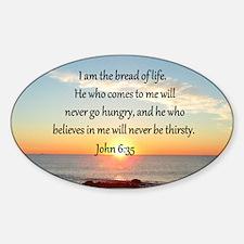 JOHN 6:35 Decal