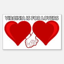 Unique Love virginia Decal