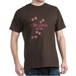 Pink Chihuahua Mom Dark T-Shirt