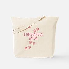 Pink Chihuahua Mom Tote Bag