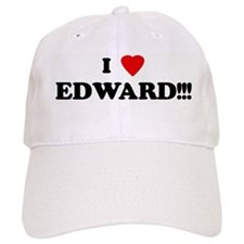 I Love EDWARD!!! Baseball Cap