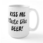 I Taste Like Beer Large Mug