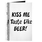 I Taste Like Beer Journal
