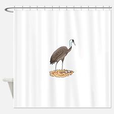 Crane Nest Shower Curtain