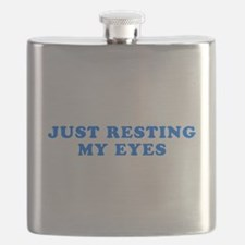 Just Resting My Eyes Flask