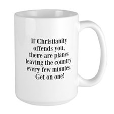 If Christianity Offends MugMugs