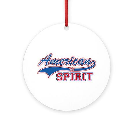 American Spirit Ornament (Round)