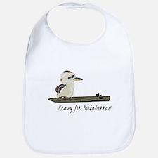 Krazy Kookaburras Bib