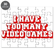 I Have Too Many Video Games Puzzle