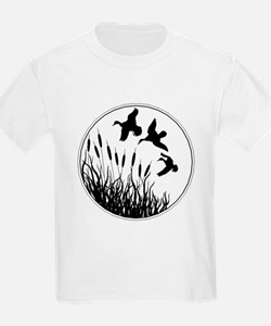 Cattails And Ducks T-Shirt