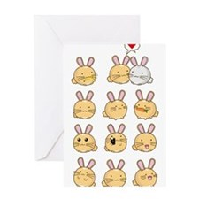 Fuzzballs Bunnies Greeting Cards