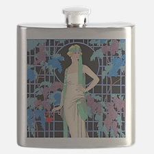 Unique Art deco Flask