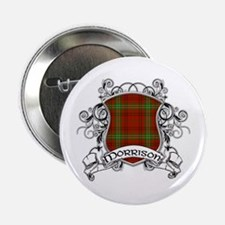 "Morrison Tartan Shield 2.25"" Button"