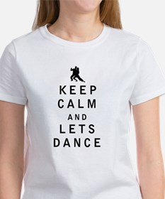 Keep Calm and Lets Dance T-Shirt