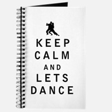 Keep Calm and Lets Dance Journal