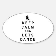 Keep Calm and Lets Dance Decal