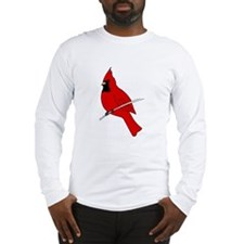 Red Cardinal Long Sleeve T-Shirt