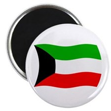 "Kuwait Flag 2 2.25"" Magnet (100 pack)"