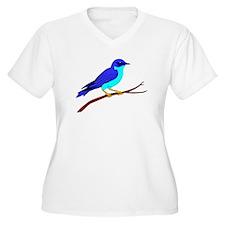 Bluebird Plus Size T-Shirt