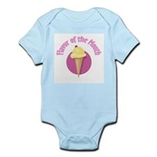 Cute Flavor of the Month Infant Bodysuit