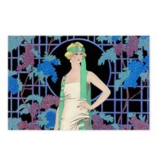 Unique Art deco Postcards (Package of 8)