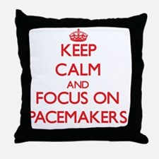 Cute Pacemakers Throw Pillow