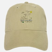 The Well Rigged Baseball Baseball Cap