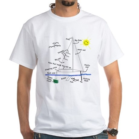 The Well Rigged White T-Shirt
