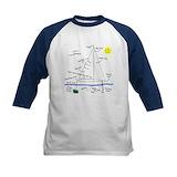 Sailing Long Sleeve T Shirts