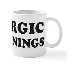Allergic To Mornings Mugs