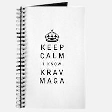 Keep Calm I Know Krav Maga Journal