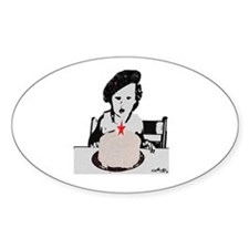 Life of Party Oval Decal