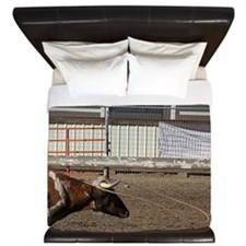 The One That Got Away Roping Rodeo King Duvet