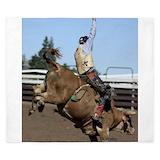 Bull riding Duvet Covers