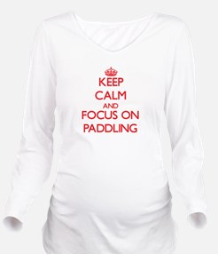 Unique Keep calm and run 13.1 Long Sleeve Maternity T-Shirt