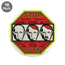 "Stop Putin 3.5"" Button (10 pack)"