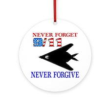 Never Forget 9-11 Never Forgi Ornament (Round)