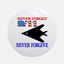 Never Forget 9-11 Never Forgi Ornament (Round)