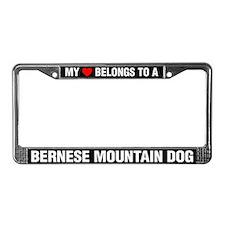 My Heart Belongs To A Bernese Mountain Dog