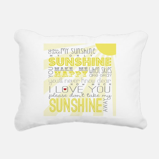 sunshine11 Rectangular Canvas Pillow