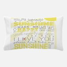 sunshine11 Pillow Case