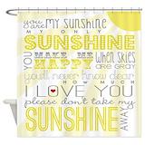 Sunshine Shower Curtains